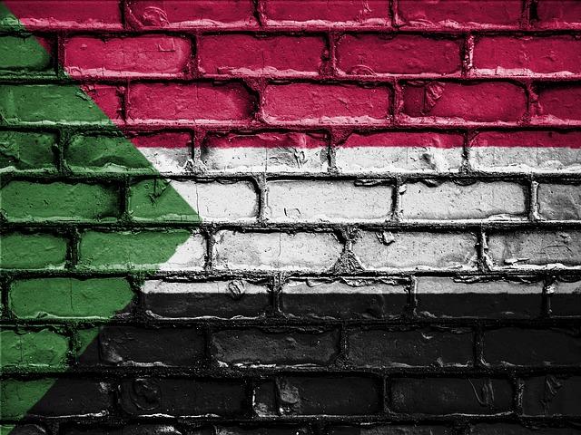 Pixabay, Sudan, flag, wall