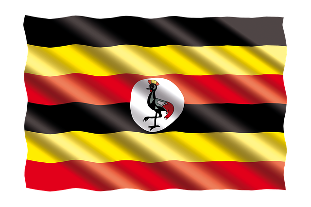 Ugandan flag via Pixabay
