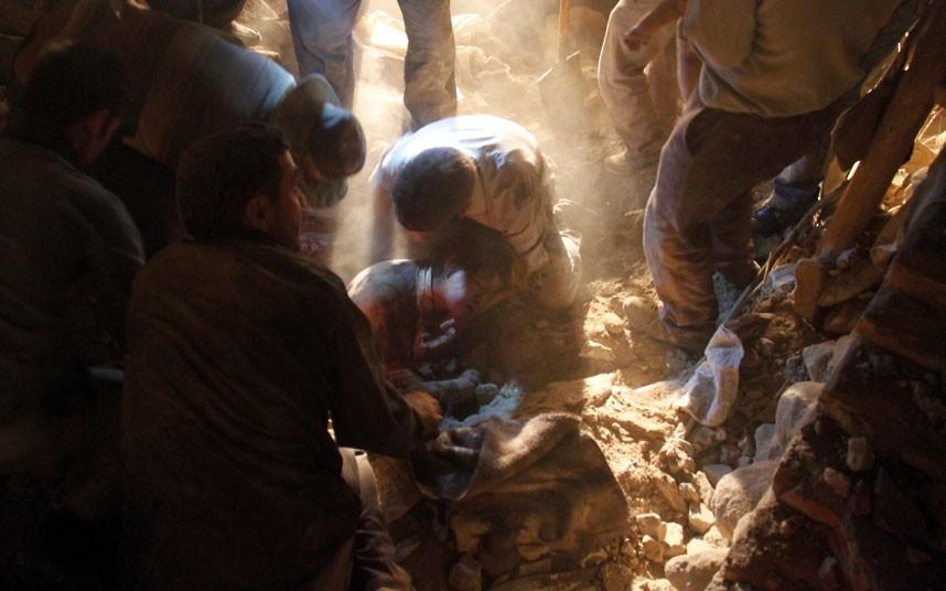 Iran: shock, trauma and crisis