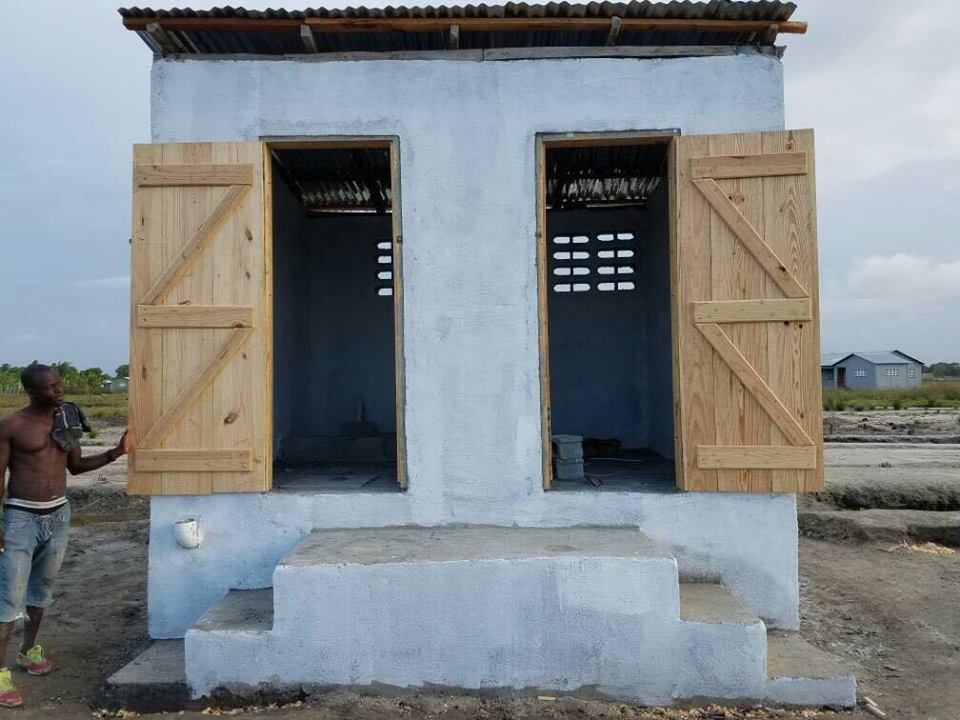 Community latrines to be built in open defecating Haiti