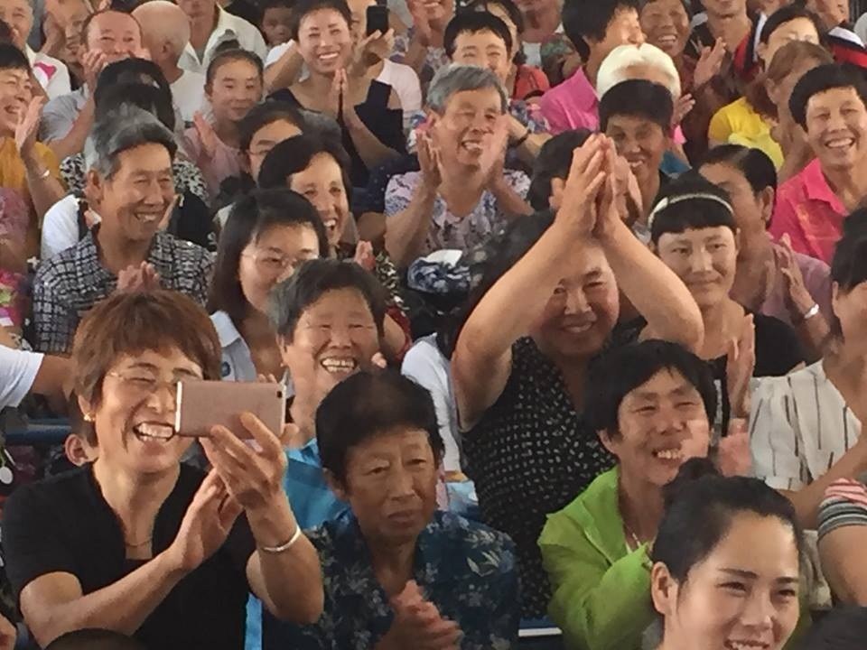 Worshipers in China