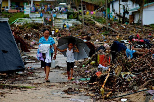 After typhoon, a community finds hope for the future