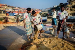 Rohingya refugees medical facility