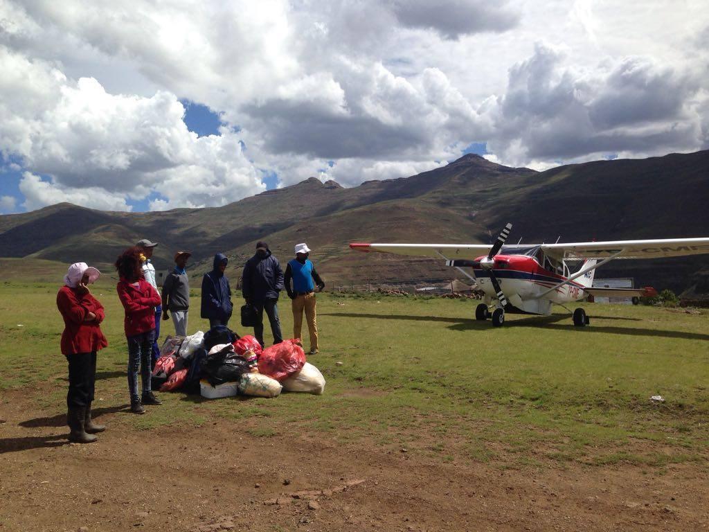 Flying Pastors are spreading the Gospel in Lesotho