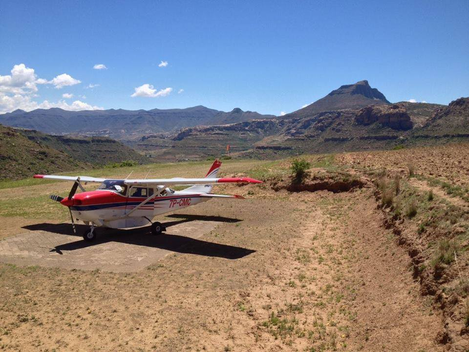 Flying pastors and doctors programs in Lesotho use aviation to share Christ
