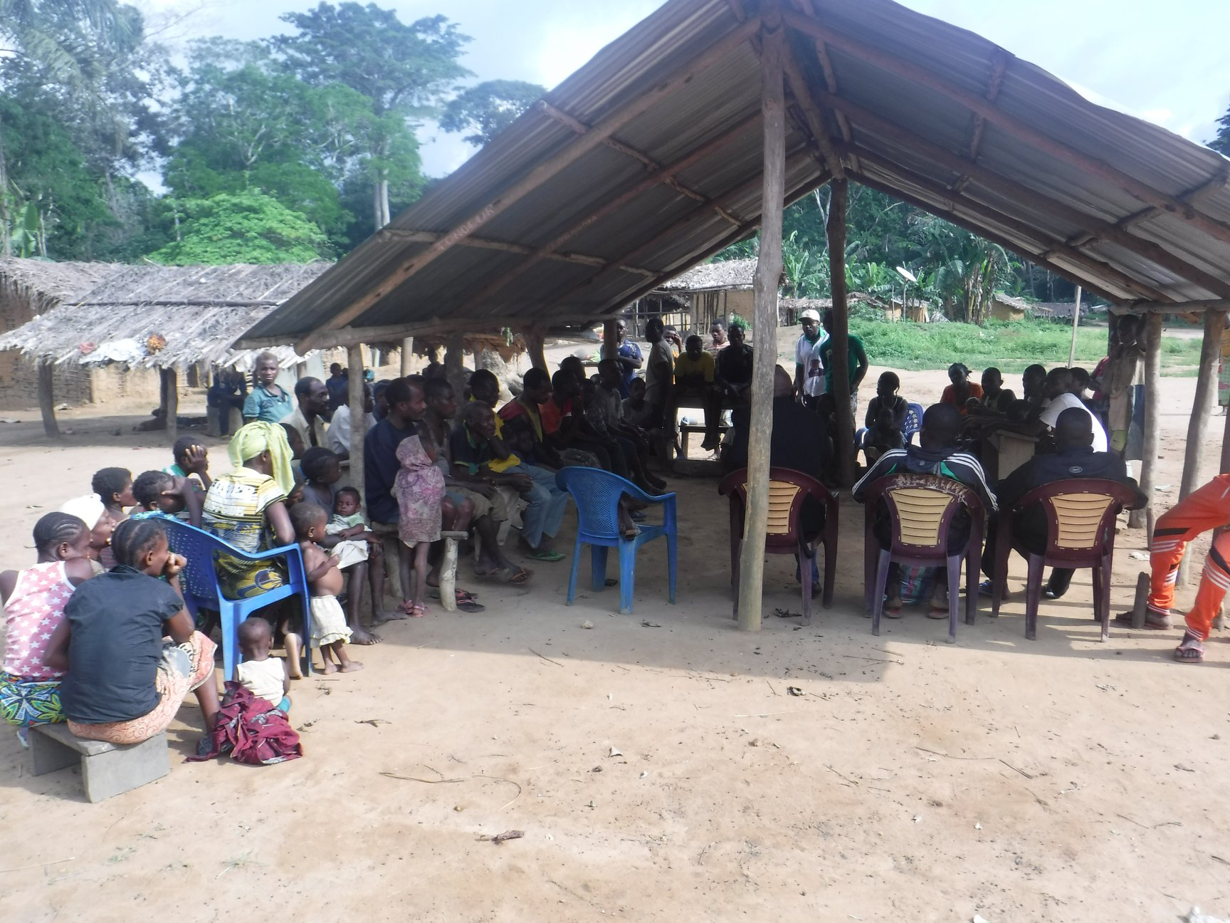 Lack of food and safety for refugees in Nigeria