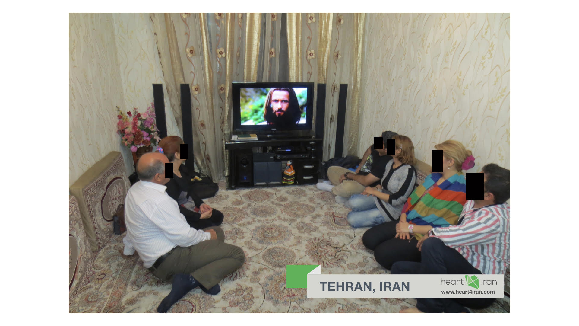 Heart4Iran, Mohabat tv, Iran, Jesus Film