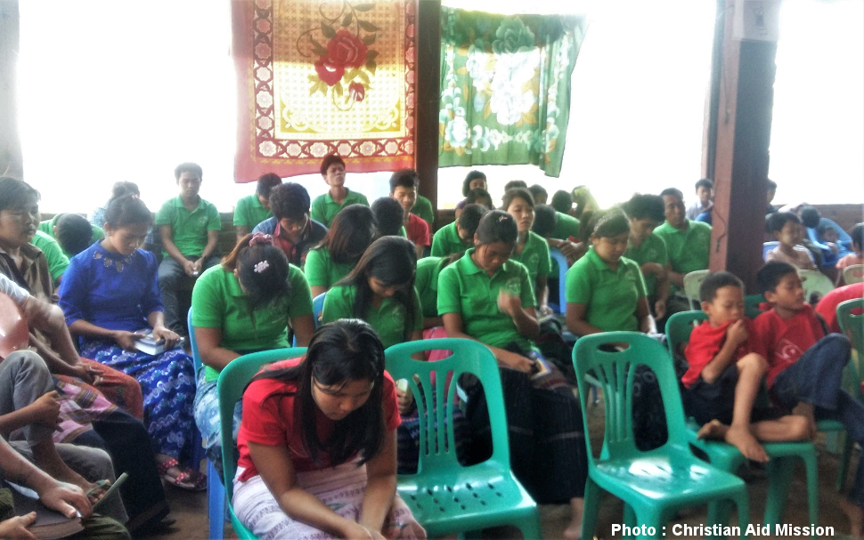 Hundreds follow Christ in Myanmar