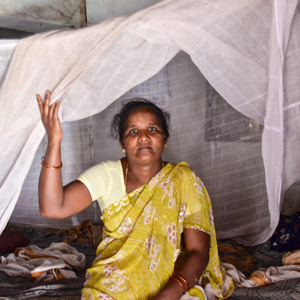 World Malaria Day and the simple gift of a mosquito net