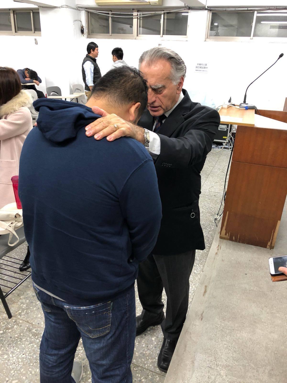 Prayer for all nations center
