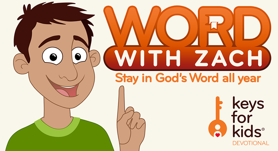 WORD With Zach: summer Bible reading program for kids