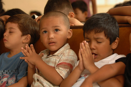 In Nicaragua, Compassion International is helping children look to the future