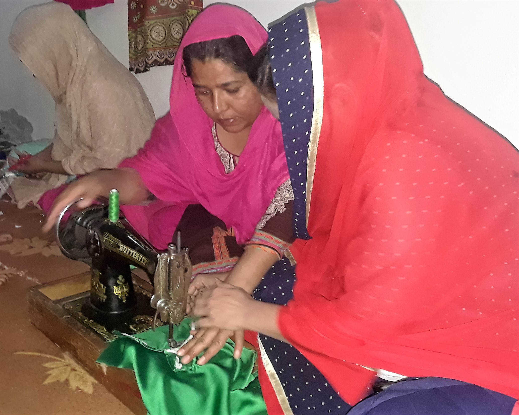 FMI's sewing and literacy center changes the lives of Pakistani women