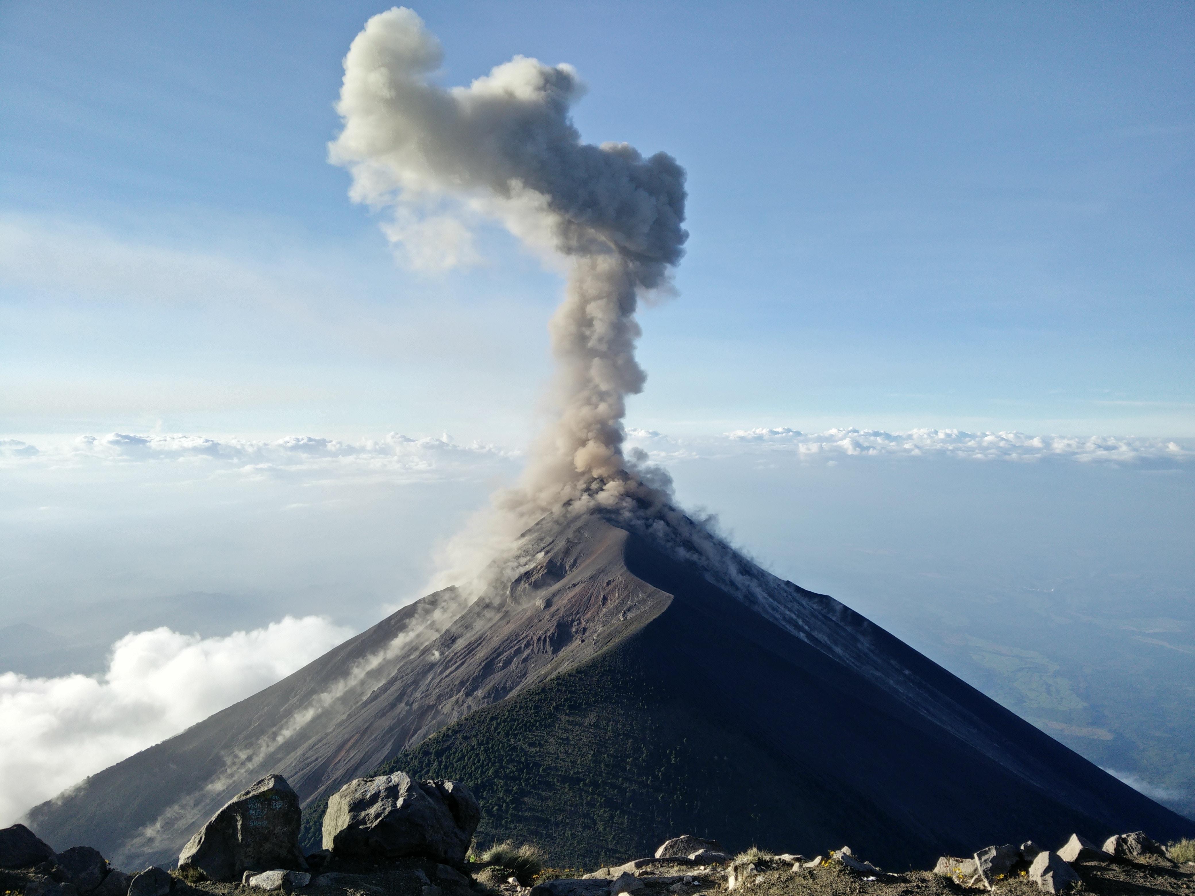 volcano, guatemala