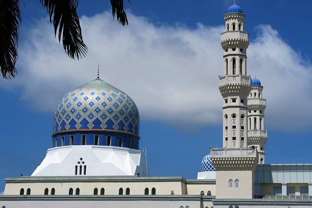 malaysia, mosque pixabay