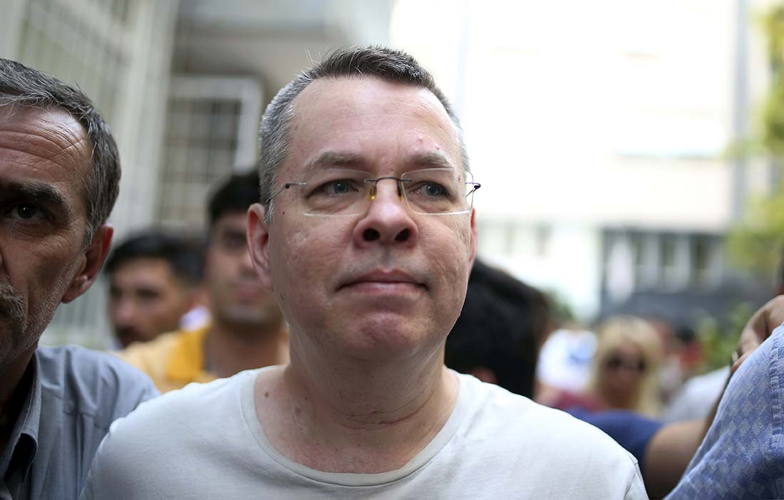 Pastor Andrew Brunson's appeal to leave house arrest rejected