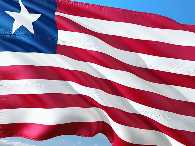 liberia flag - pixabay