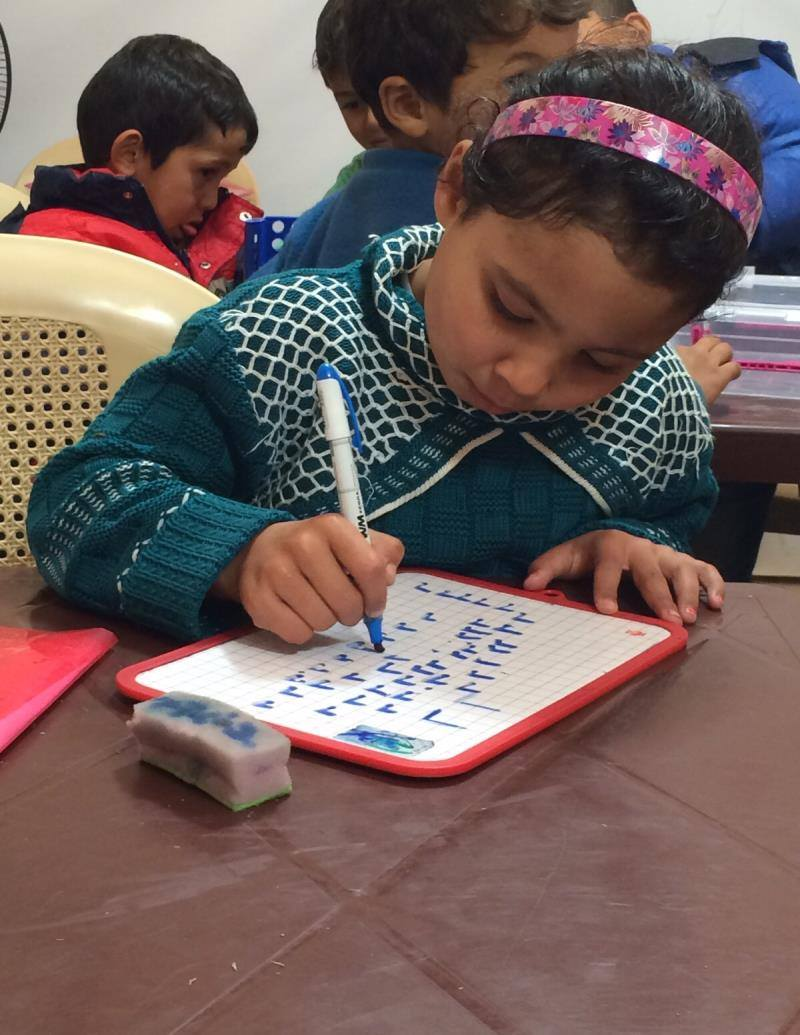 Ending barriers for refugee education