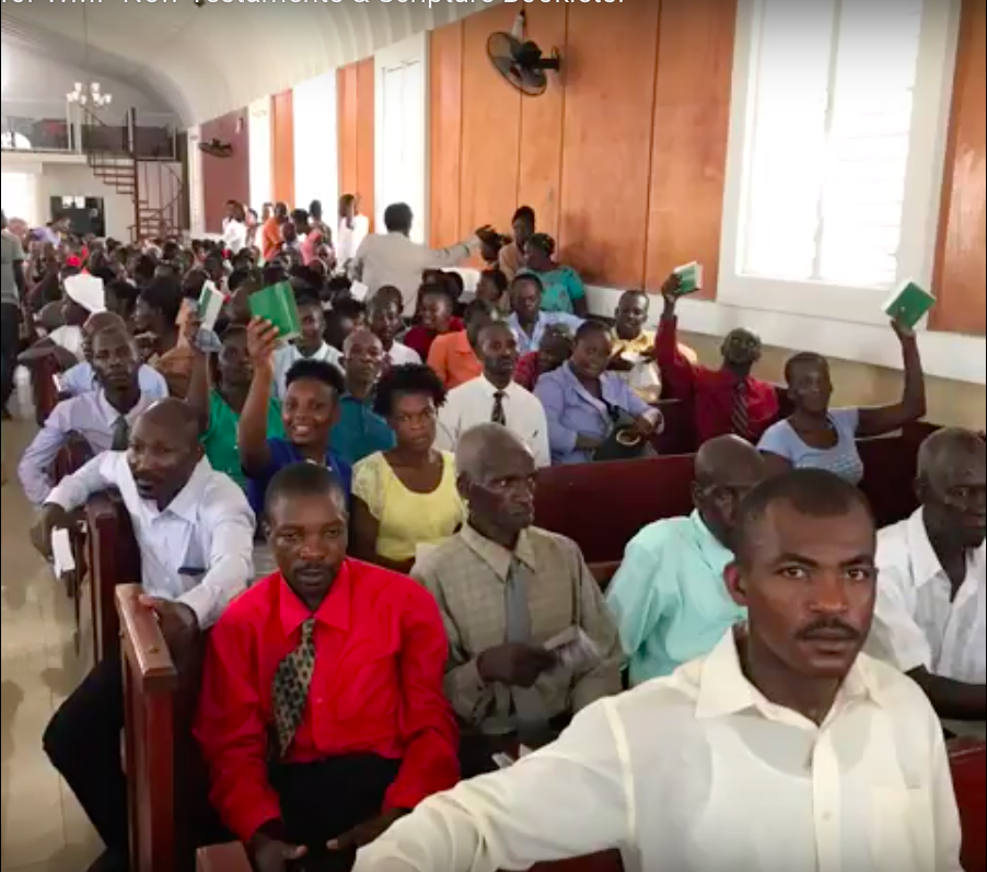 World Missionary Press sends emergency shipment to Haiti