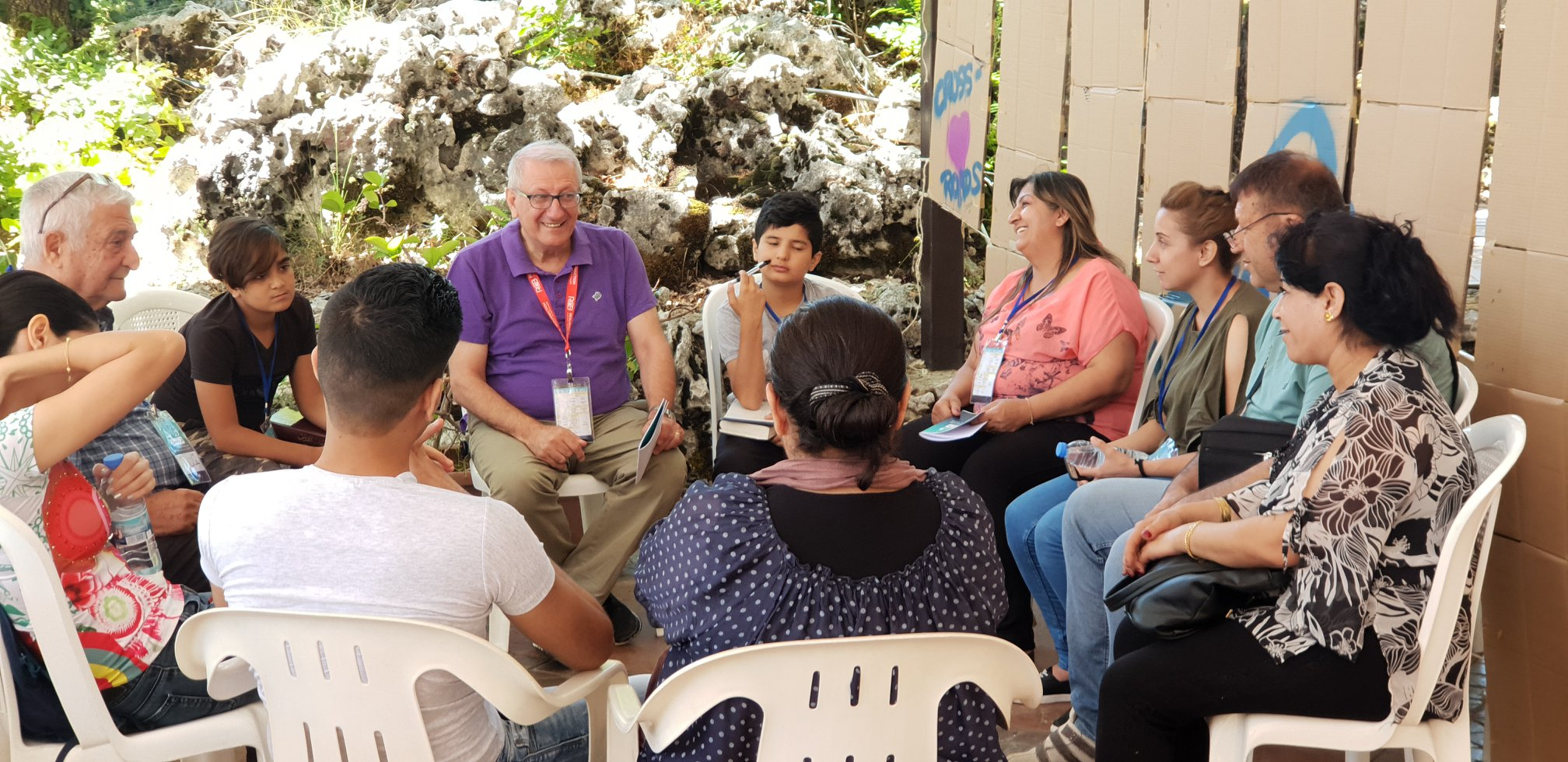 Creating disciples and relationships in Lebanon