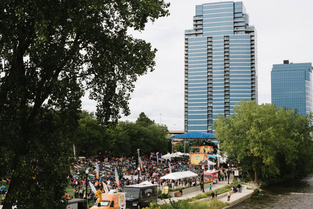 CityFest West Michigan at Ah-Nab-Awen Park in downtown Grand Rapids, MIon Saturday 9, 2018.
