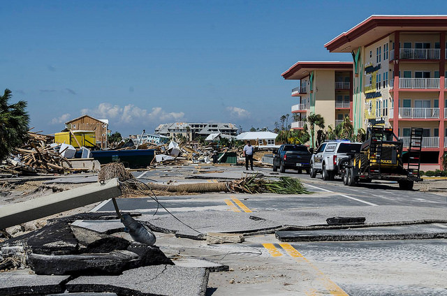 Local Florida church leading aid efforts post-Hurricane Michael