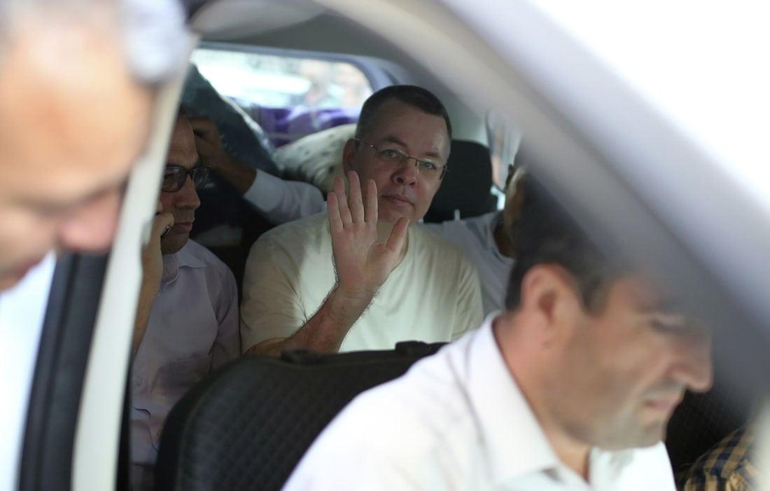 Brunson on U.S. soil following conviction, release