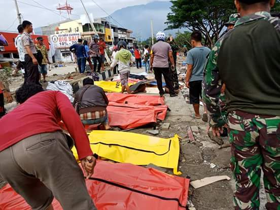Indonesia battered by double disasters
