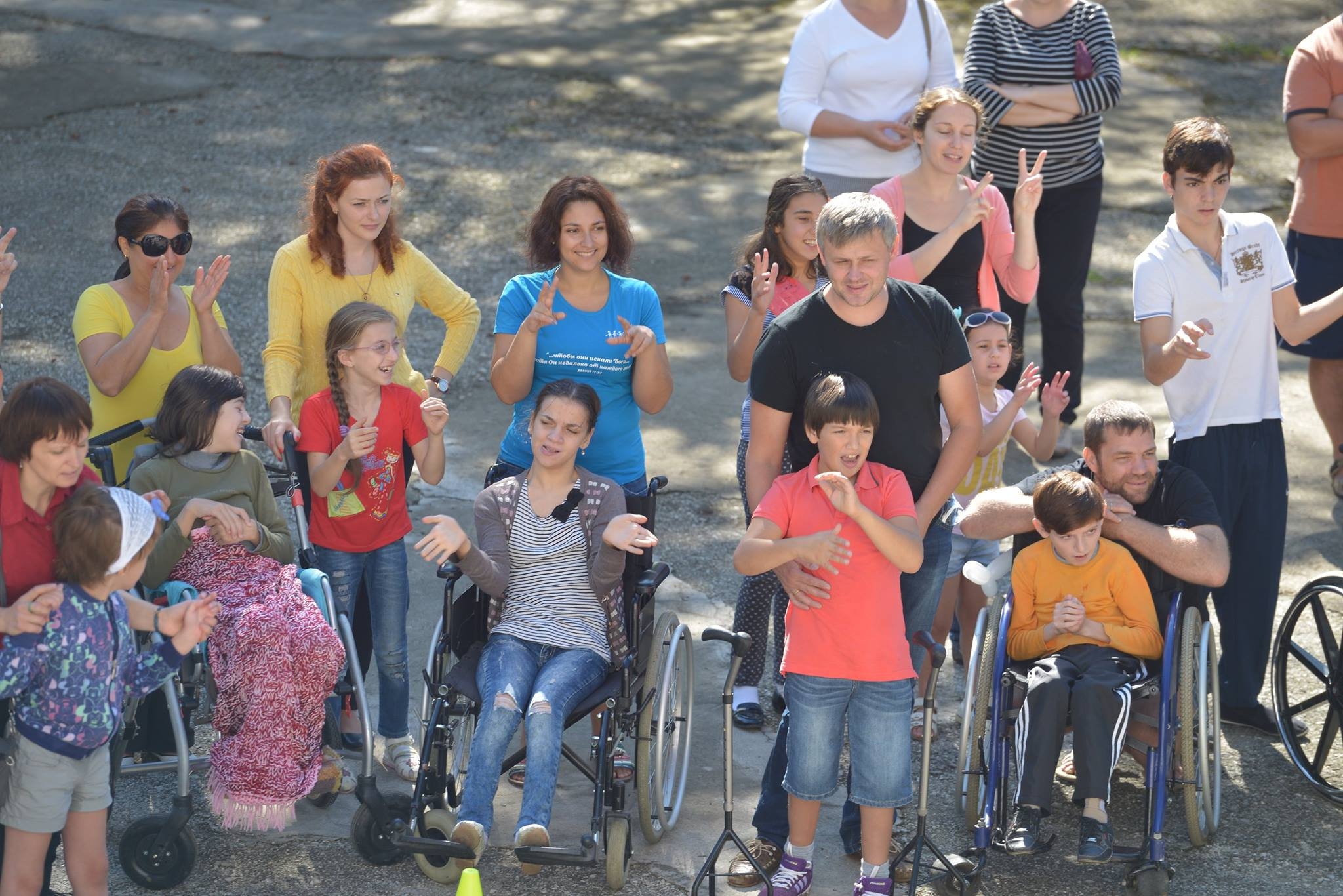 Abkhazia Bible camp brings hope to handicapped children