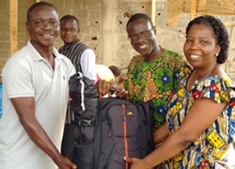 Jesus Film backpack accelerating ministry worldwide