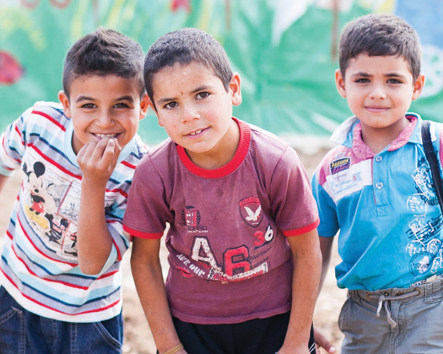 Hope for students in refugee camps in the Beqaa.