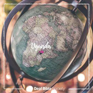 uganda, globe, world map