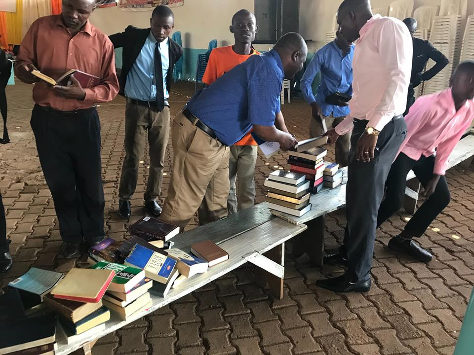 Mission Cry equips Ugandan man with Christian materials