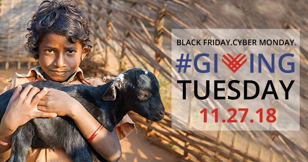 Giving Tuesday match doubles impact in India