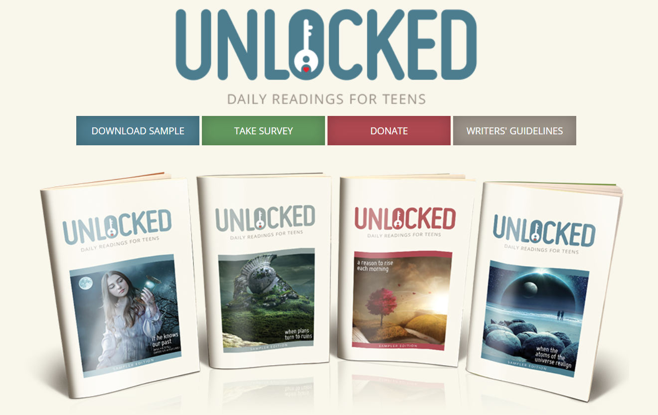 Teen devotional 'Unlocked' announces new editor and developments