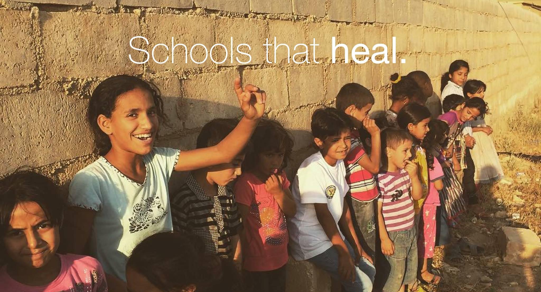 TENT Schools educate Iraqi refugee kids