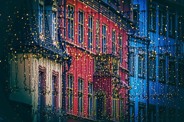 Pixabay, Christmas lights