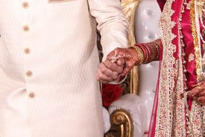 india, woman, bride, groom, marriage, wedding