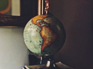 world, globe, map