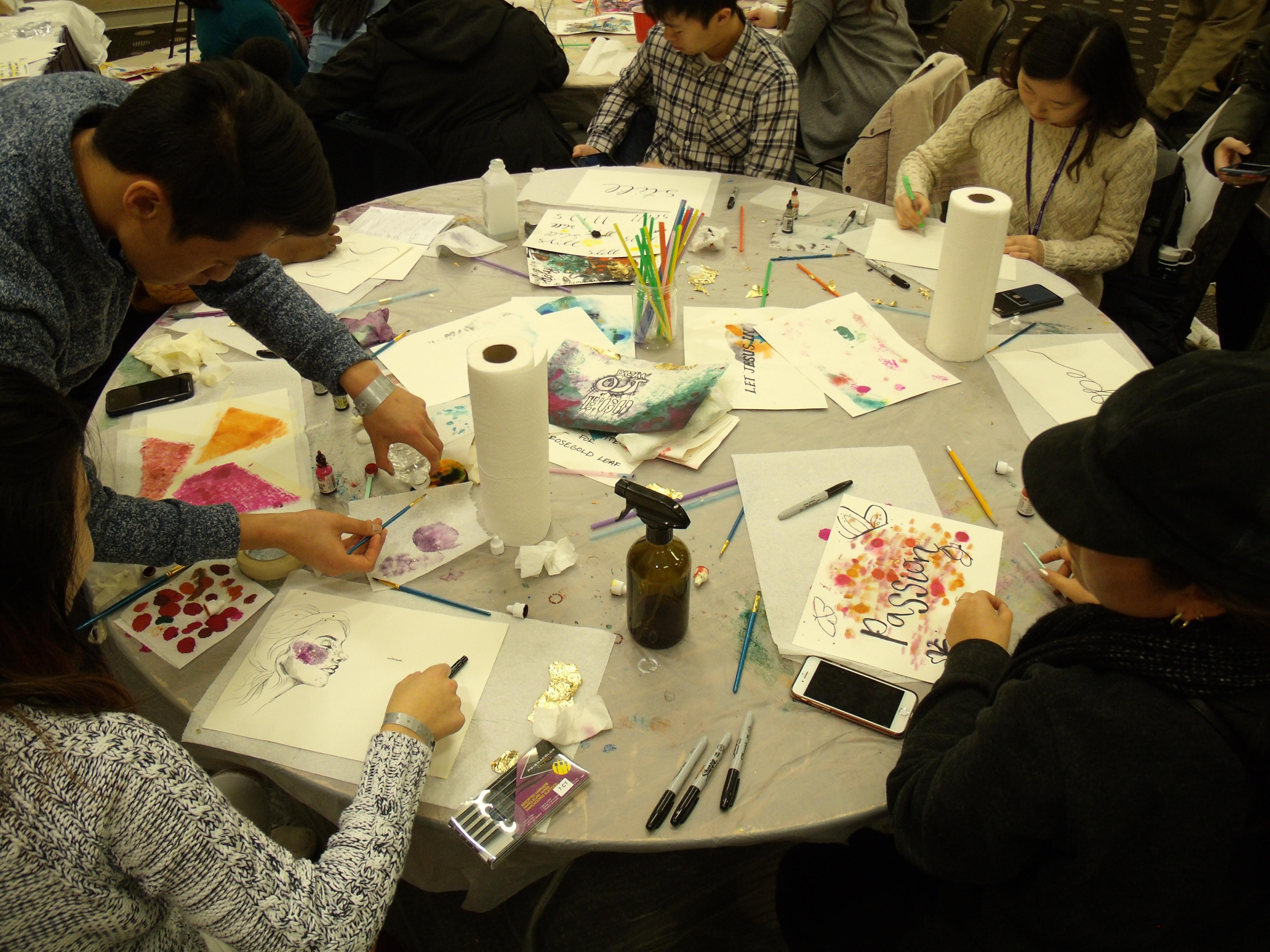 Showcasing the Gospel message through art