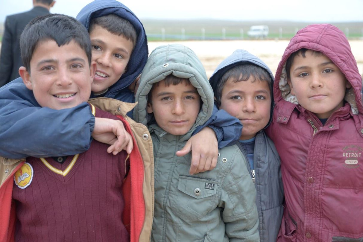 Coins for refugees' education