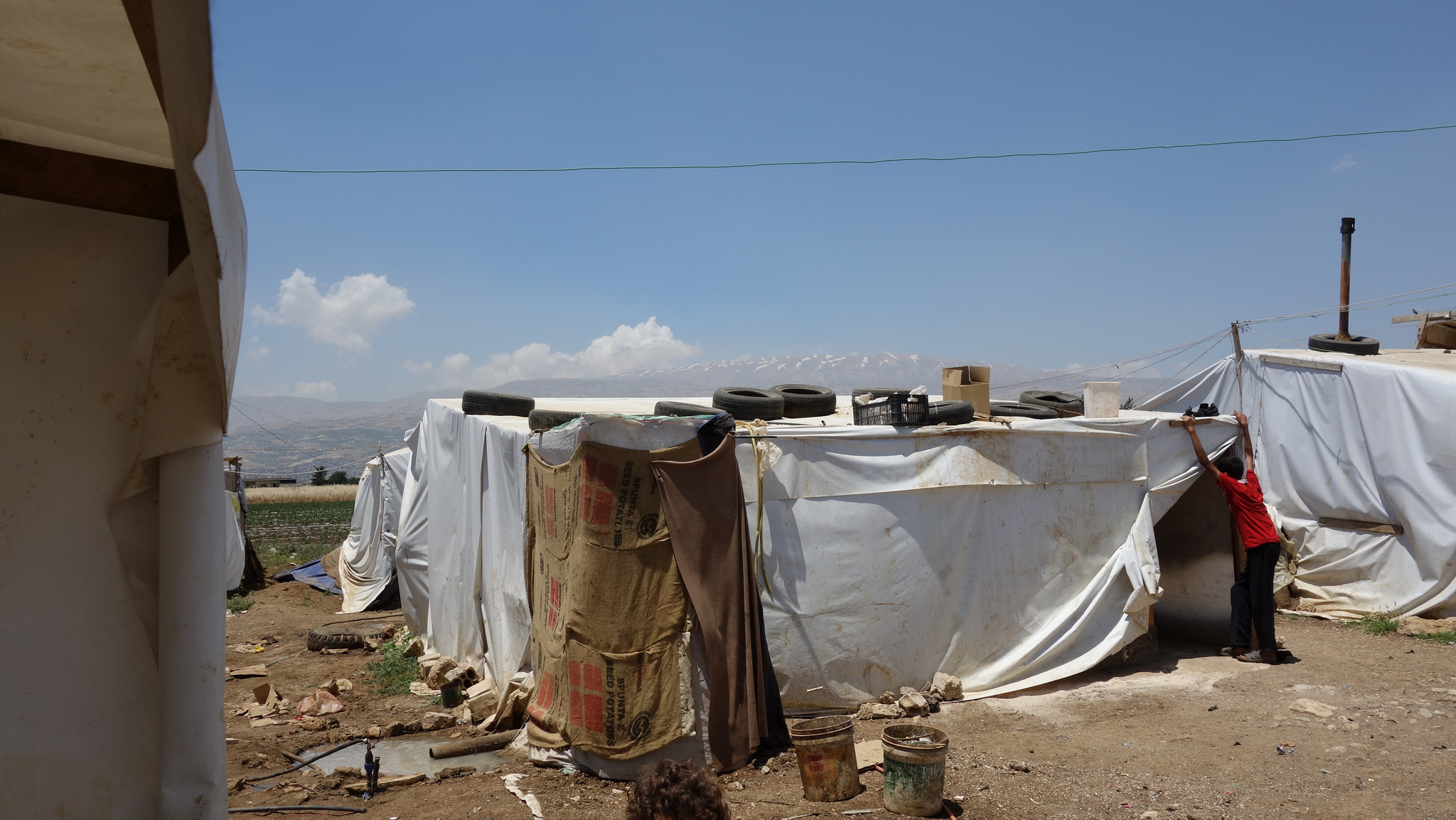 Lebanon's lockdown means more suffering for refugees