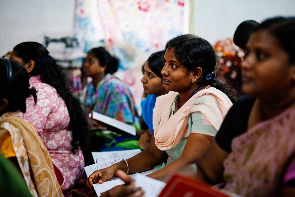"""Mission India Empowering Women to be """"Difference Makers"""" throughAdult Literacy Classes"""