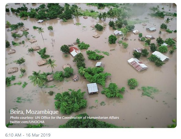 Cyclone Idai: thousands displaced throughout Southern Africa