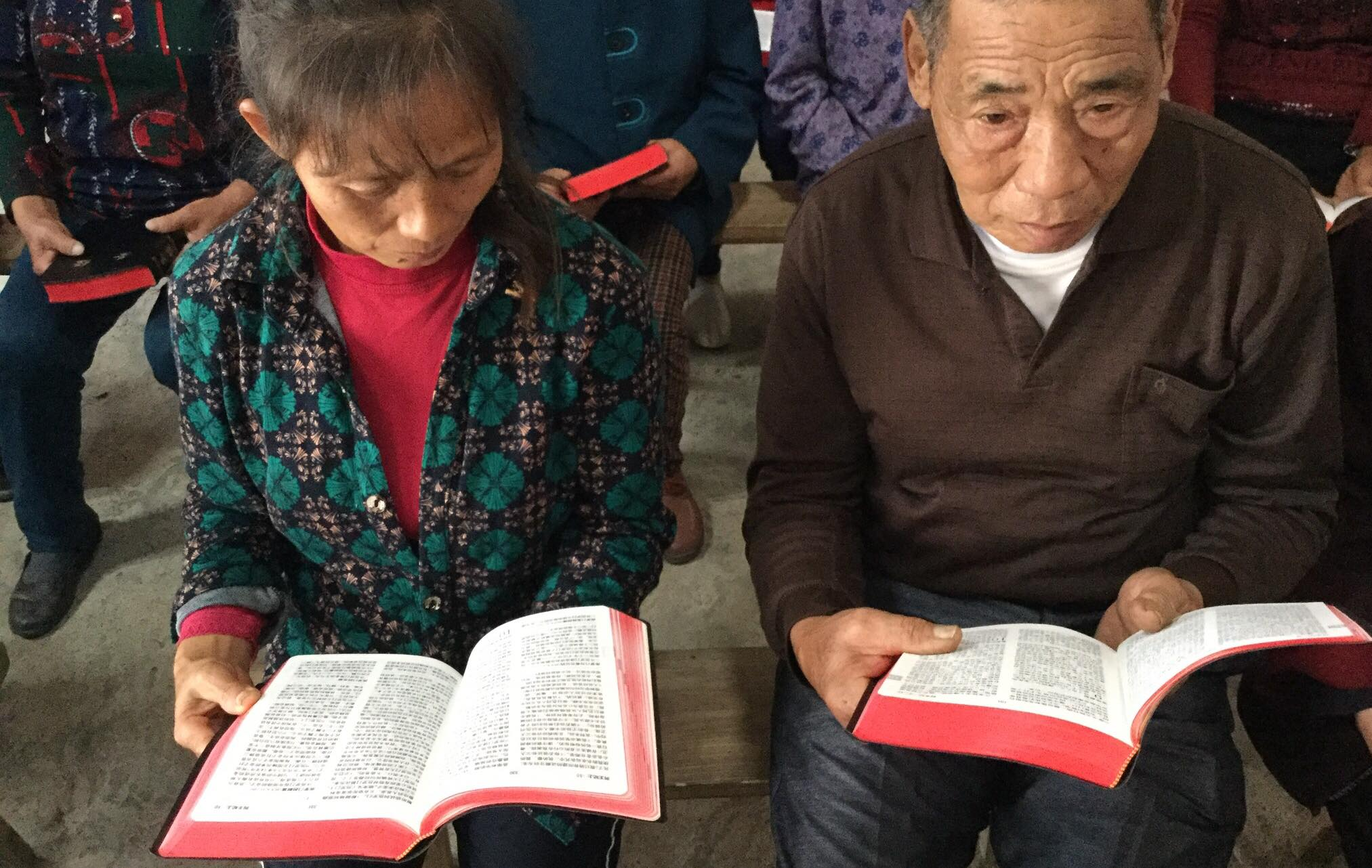 Changes to the Bible challenge Chinese Church