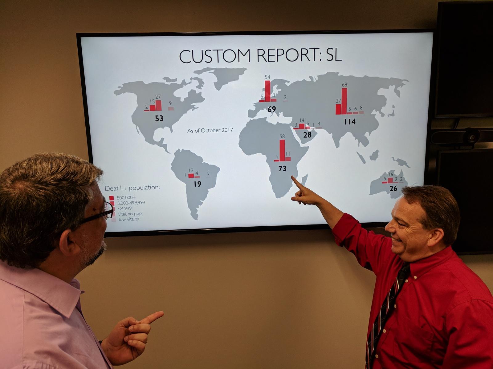 ISLET supports sign language Bible translation