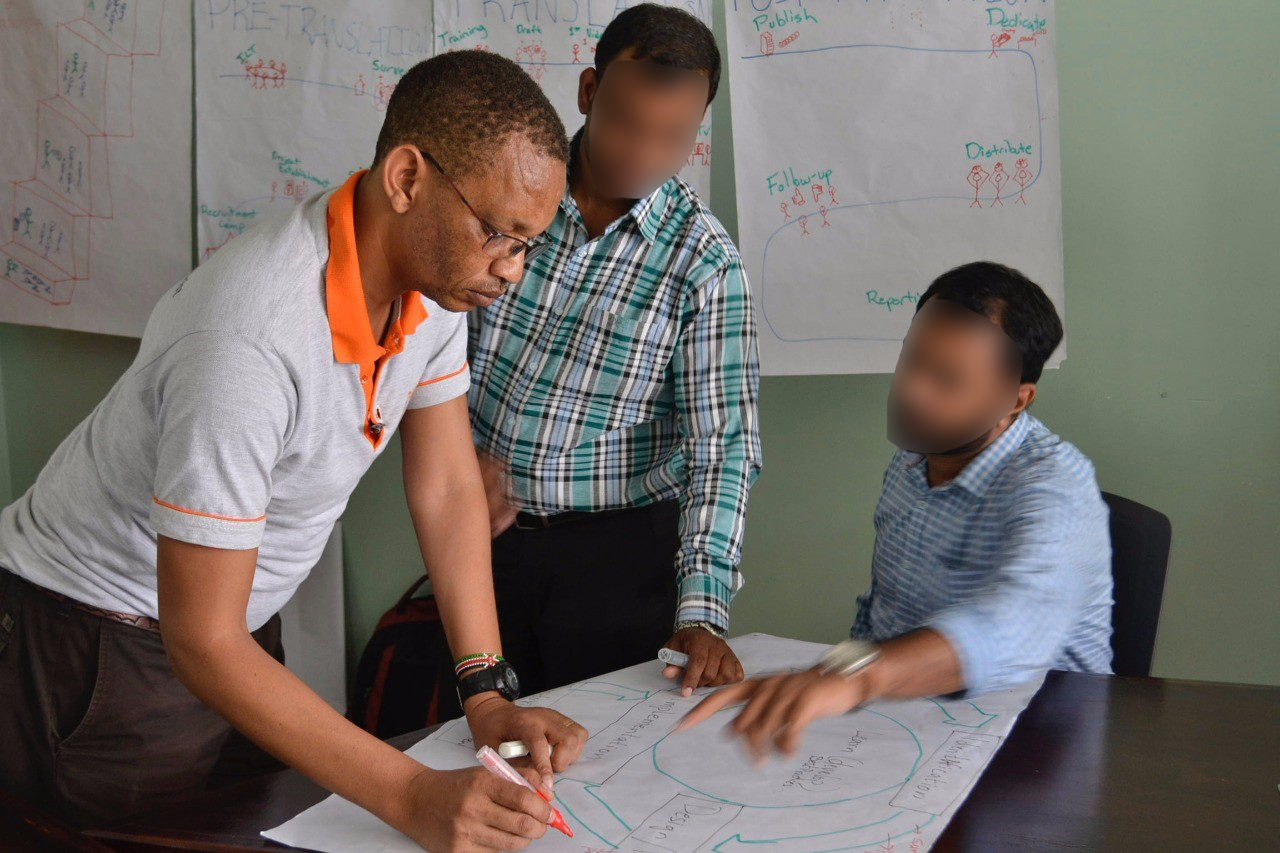 Building teamwork in the global Deaf community