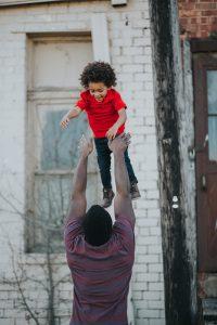 dad, daughter, kid, child, man, parent