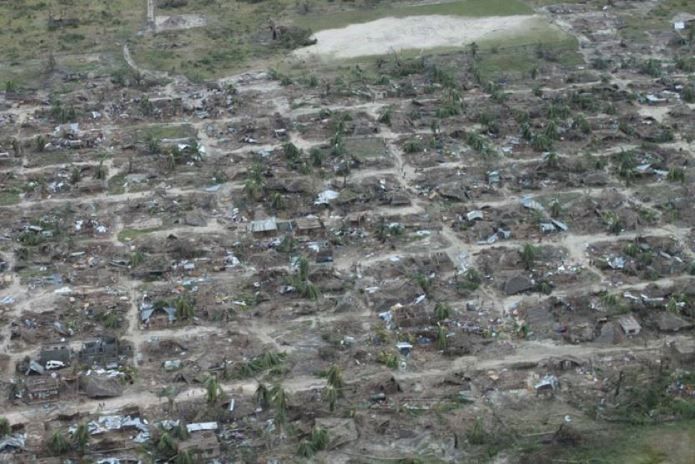 Cyclone Kenneth batters previously-hit Mozambique