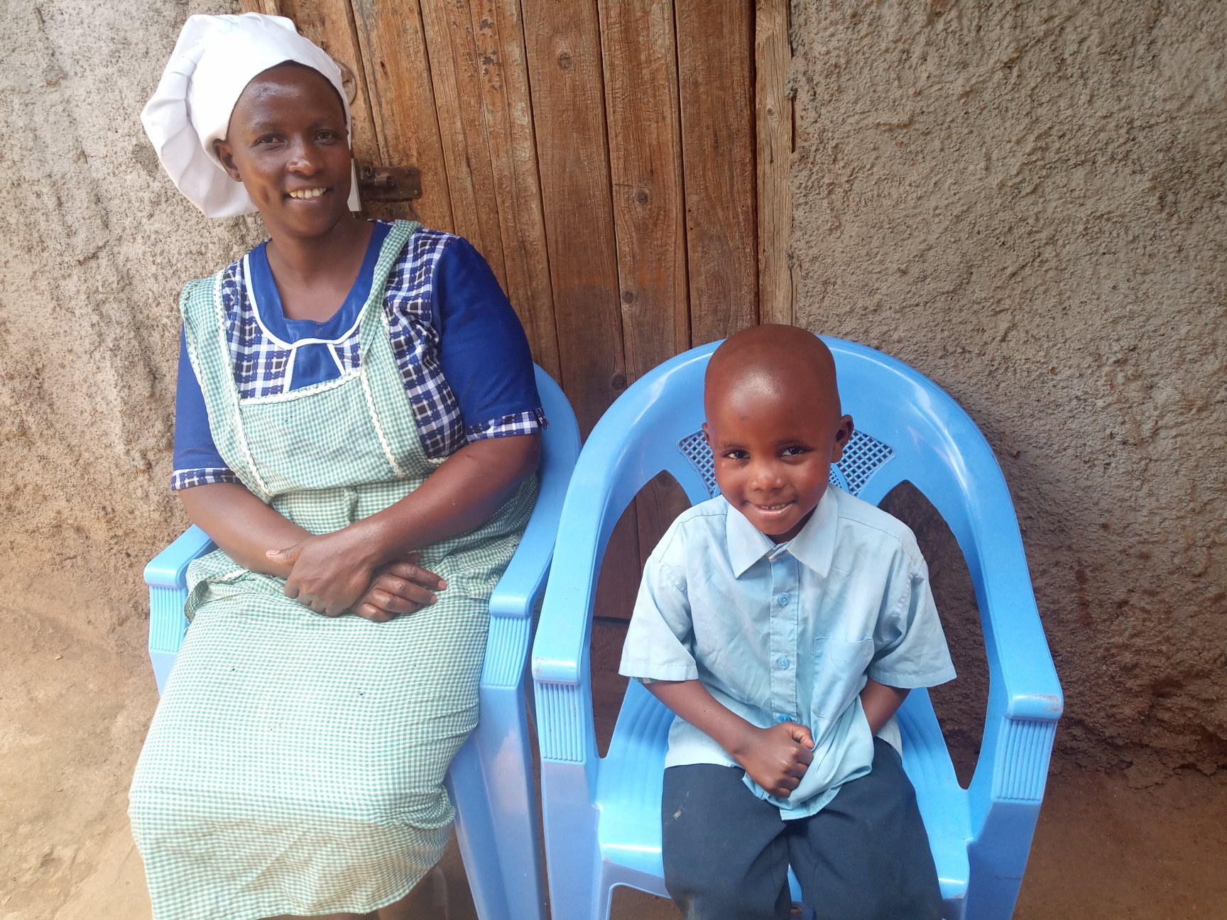 Widow sponsorship has significant impact in Kenya's slums